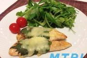 【食らえ俺の男飯!】超絶簡単!ササミの青じそチーズ焼き
