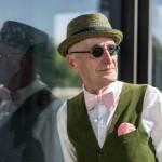 【賞賛の嵐!】70歳おじいさんのファッションがお洒落すぎると話題に!