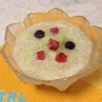 【食らえ俺の男飯!】朝の仕事効率もアップ!?ココナッツミルクを使った美容に嬉しいハニーデューメロンサゴ!