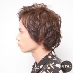 2017メンズ春夏ヘアカタログ【mailo】エッジパーマスタイル