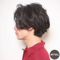 2017メンズヘアカタ【at'LAV by Belle】アンニュイボブ