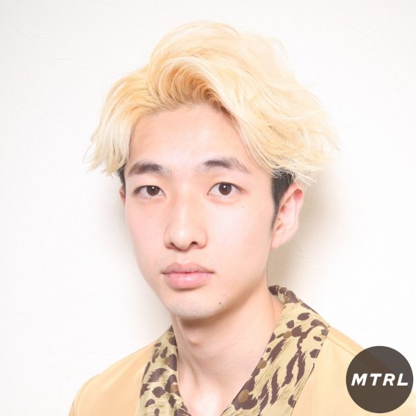 【at'LAV by Belle】アップバングパーマ