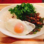 【大人気カフェメニュー!】炒めて簡単!10分でできるガパオライス