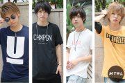 【夏の必需品】MTRLモデルのお気に入り私物Tシャツを一挙公開!