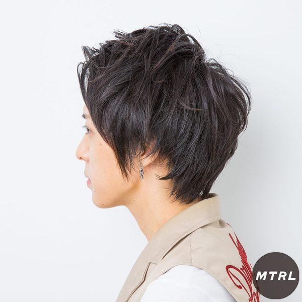 【mailo】セクシーアップバングショート