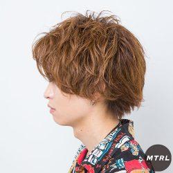 2017メンズヘアカタログ【SMILOOP】ランダムスパイラルマッシュ