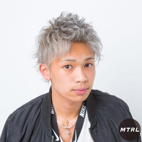 2017メンズヘア【L.DORADO】フェザリングショート