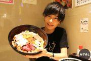 【爆盛りチャレンジ!】ご飯5合分!? 新宿若狭家の「びっくり丼」に挑戦!