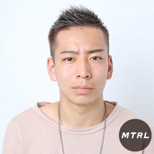 2017メンズヘアカタログ【U-REALM】スパイキーベリーショート