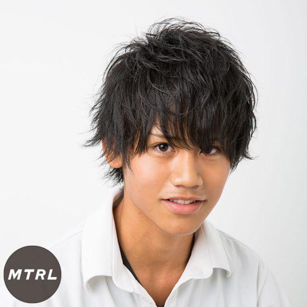 2017メンズヘア【SMILOOP】黒髪でもカッコいい!ライトニングエアリーマッシュ/中山雄二