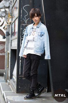 2016年秋の渋谷原宿リアルスタイル【MTRL_SNAP】今風の羽織りアウターを取り入れたカジュアルコーデ!森 崚茉