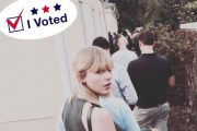 【#アメリカ大統領選 】レディー・ガガからテイラー・スウィフトまで!投票に行くセレブまとめ #VOTE