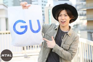 GU メンズファッション 春コーデ 安い ロープラコーデ