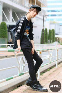 2017年春の渋谷原宿リアルスタイル【MTRL_SNAP】市川慶一郎