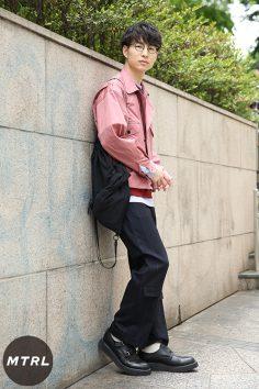 2017年春の渋谷原宿リアルスタイル【MTRL_SNAP】シルエットにこだわった今年流春夏コーデ 山崎裕太