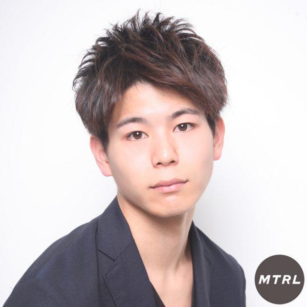 2017メンズ春夏ヘアカタ【U-REALM】アップバングショート