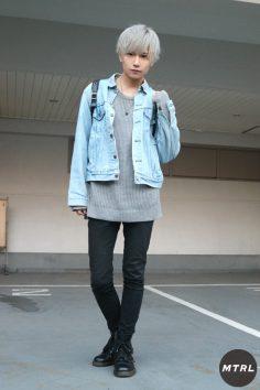 【SNAP】2018年渋谷原宿リアルコーデ:りょま