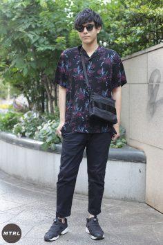 【SNAP】2018年渋谷原宿リアルコーデ:遠藤悠太