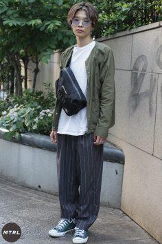 【SNAP】2018年渋谷原宿リアルコーデ:遠藤脩佑