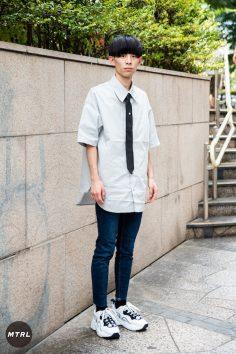 【SNAP】2018年渋谷原宿リアルコーデ:石黒翔