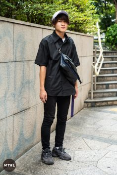 【SNAP】2018年渋谷原宿リアルコーデ:日東寺達也