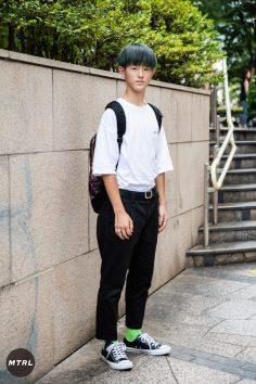【SNAP】2018年渋谷原宿リアルコーデ:榊原蒼