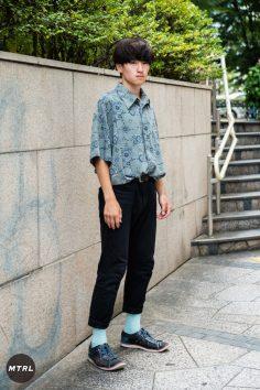 【SNAP】2018年渋谷原宿リアルコーデ:池田龍飛