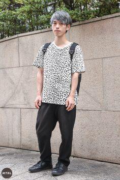【SNAP】2018年渋谷原宿リアルコーデ:小田桐大輔
