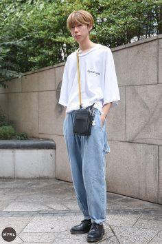 【SNAP】2018年渋谷原宿リアルコーデ:関口湧己