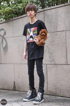 【SNAP】2018年渋谷原宿リアルコーデ:江頭康之