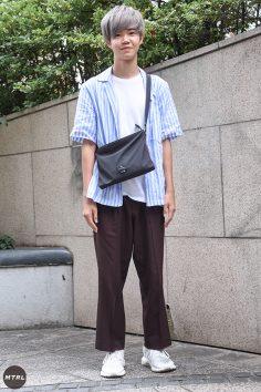 【SNAP】2018年渋谷原宿リアルコーデ:田中陽輝
