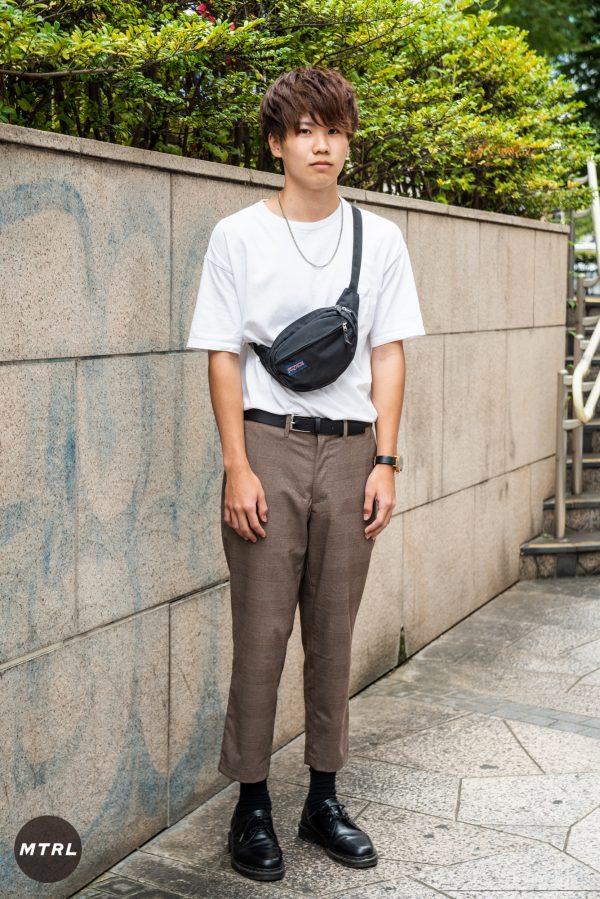 【SNAP】2018年渋谷原宿リアルコーデ:齋藤雄大