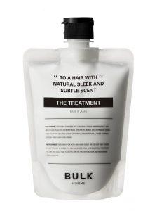 『THE TREATMENT』(読み:ザ トリートメント)[ヘアトリートメント]  180g ¥3,000(税別)  紫外線や乾燥によるダメージから髪を守るために。髪の内部まで吸着浸透するダメージ補修成分※3や、  ヒートプロテクト機能※4をもつナタネ由来成分※5を配合。驚くほど軽い使用感ながら、頭皮と髪に自然な  保護膜を形成。  髪の1本1本にハリと潤いを与えることでスタイリングしやすいまとまり感を生み出す、ノンシリコンの  ヘアトリートメントです。