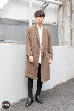 【SNAP】2018年渋谷原宿リアルコーデ:小木純之介
