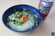 【混ぜるな危険】ストロングゼロ茶漬けが異次元の食べものすぎて草