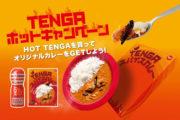 HOT TENGAの季節がやってきた!今年は「TENGAスパイスカレー」がもらえる!