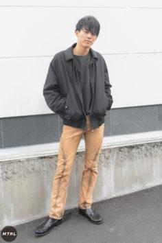 【SNAP】2019年AW渋谷原宿リアルコーデ:落合俊哉