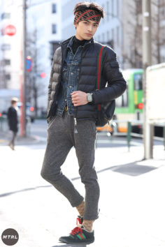 【SNAP】2020年 冬の渋谷原宿リアルコーデ:ジョージ