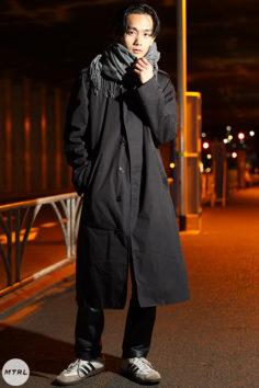 【SNAP】2020年 冬の渋谷原宿リアルコーデ:大竹 龍之介
