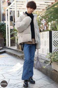 【SNAP】2020年冬の渋谷原宿リアルコーデ:大橋亮哉