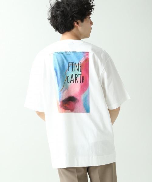 RAGEBLUE <USAコットン使用>フォトプリントTシャツ